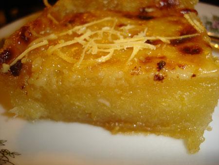 Cassava Cake Recipe Using Fresh Cassava