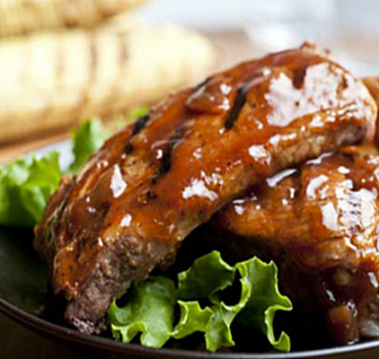 Honey and Onion Ribs