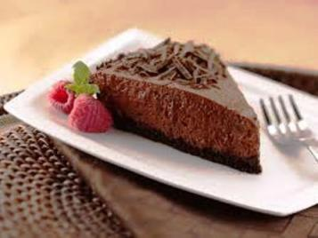Chocolate Pie Making Recipe