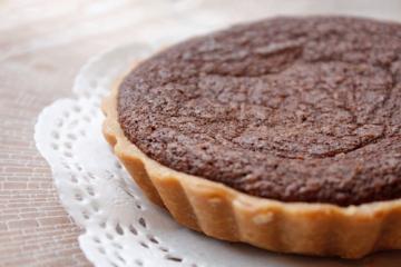 Chocolate Pie Making