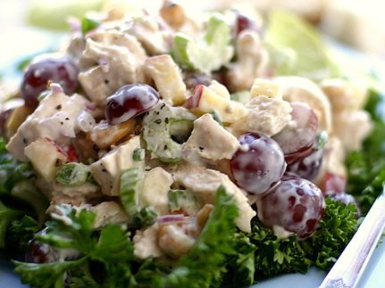 Curried Chicken Salad with Grapes Recipes