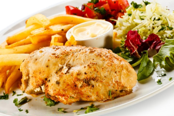 Grilled Chicken with Mustard Sauce2