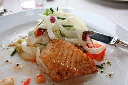 Roasted John Dory with Vegetables Recipe