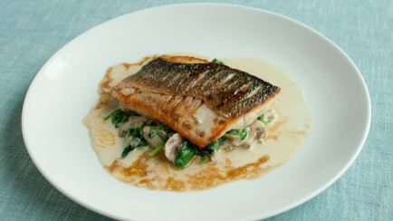 Royal Sea Bream with a Sechuan Pepper Sauce Recipe