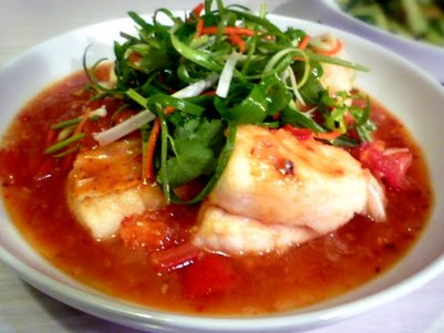 Snapper with a Sichuan Pepper Sauce Recipe