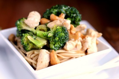 Stir-Fried Broccoli Chicken with Cashews Recipe