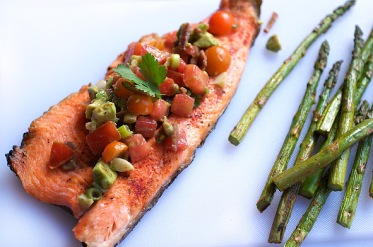 Trout with Bacon Recipe