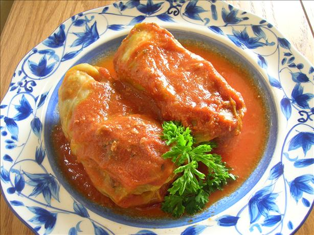 Meat Recipe: Beef and Pork Stuffed Cabbage Rolls