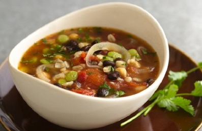 Black Bean and Vegetable Soup Recipe