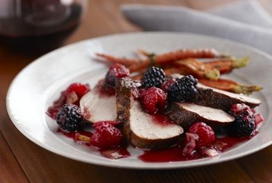 Blackberry Pork Tenderloin Recipe