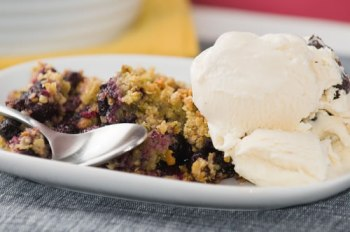 Blueberry Plum Crisp