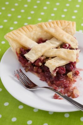 Boston Cranberry Pie