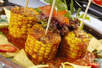 Corn with Butter and Cheese Recipe