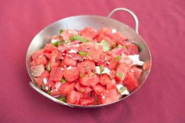 Easy Fresh Organic Watermelon Salad