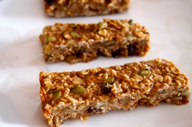 Easy Organic Granola Bars recipe