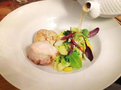 Foie gras pot au feu with celery Recipe