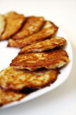 Ham Cheese and Potato Pancakes