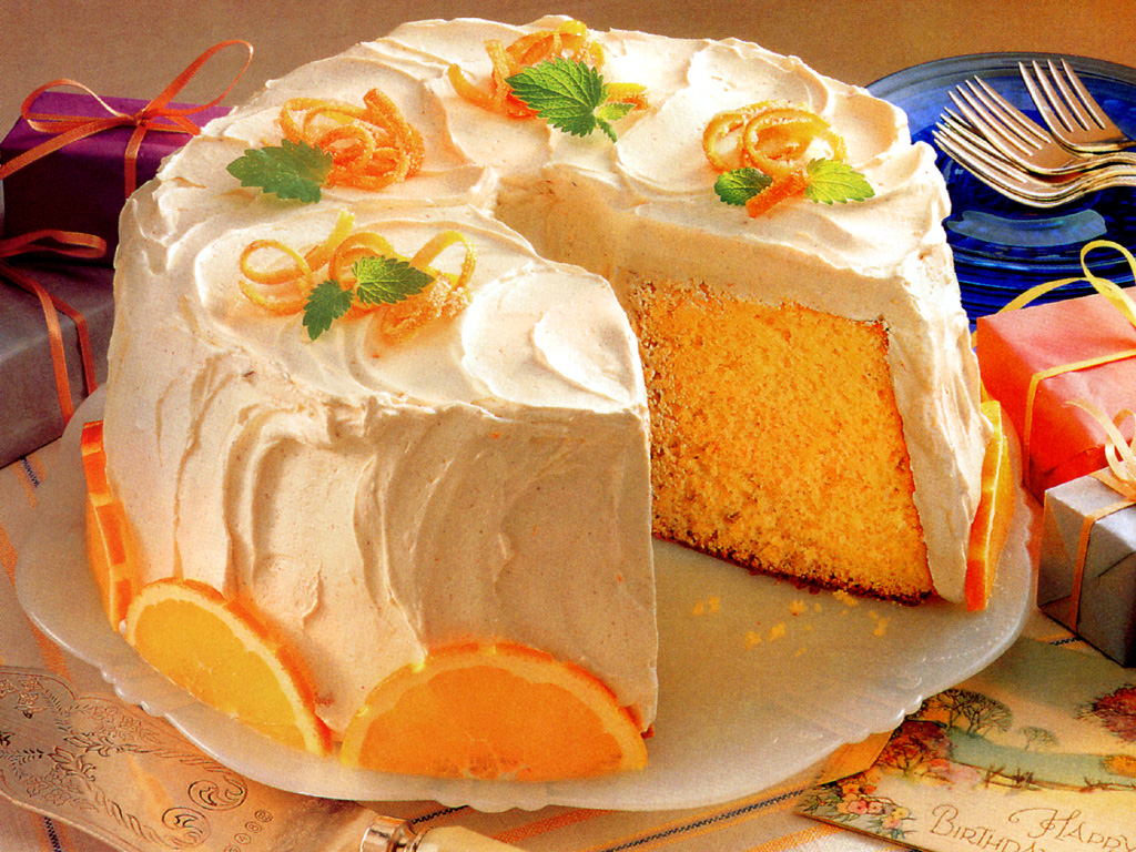 Fresh Mandarin Cake Recipe