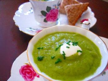Vegan Cream of Zucchini Soup Recipe