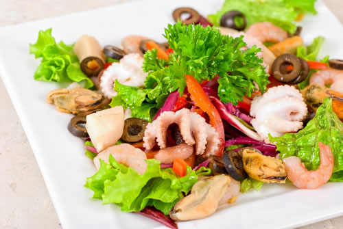 antipasto di mare also known as insalata di mare or frutti di mare ...