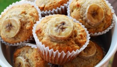 Banana Rhubarb Muffins2