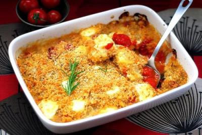 Cabbage Gratin with Polenta2