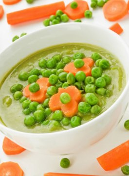 Carrot and Pea Soup Recipe