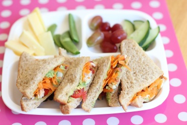 Carrot and Peas Sandwich Recipe2