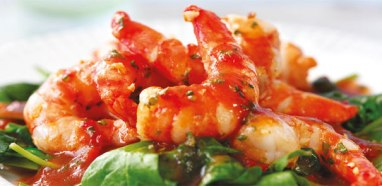 Crayfish and Prawn Salad with Butterbeans2