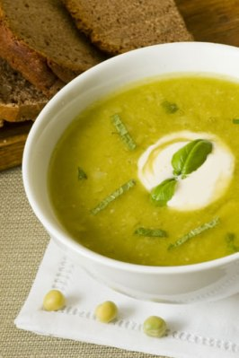 Cream of Scotch Pea Soup