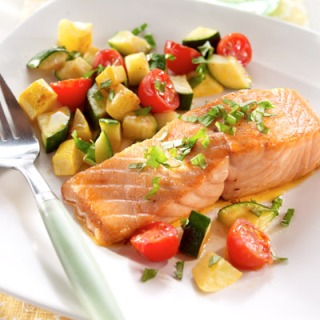 Salmon express recipe