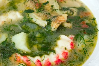 Seafood pot-au-feu with Vegetables