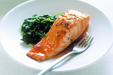 Spinach Salmon recipe