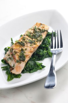 Spinach Salmon